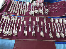 "ANITQUE Wm. ROGERS 1939 ""IMPERIAL"" SECTIONAL SILVERPLATE, 31 PIECES"