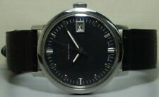 vintage mido multifort Winding Date mens wrist watch Old r778 used antque