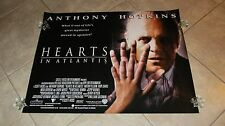 Hearts In Atlantis movie poster - Anthony Hopkins poster