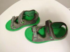 Clarks Doddles Boy's Adjustable Straps beach Sandals shoes 9