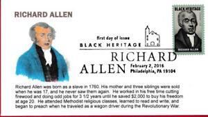Richard Allen, BLACK HERITAGE, Born a Slave, Revolutionary War Wagon Driver