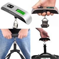 50kg/10g Portable LCD Digital Hanging Luggage Scale Travel Electronic Weight 0y
