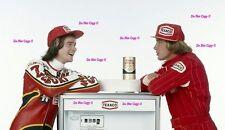 James Hunt & Barry Sheene Texaco Sponsor Portrait 1978 Photograph