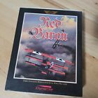 "Red Baron 3.5""  Disks Ibm Pc Computer Flying Game Vintage Dynamix Sierra"