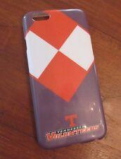 iphone 6 phone case UNIVERSITY OF TENNESSEE gray orange white checkerboard sport