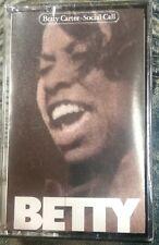 Betty Carter Social Call Cassette Tape NWOT New Vintage 1980 Sony WT 75062