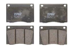 TRW Front Brake Pad Set for JAGUAR E-TYPE 4.2 V12 5.3 Series 3 Convertible