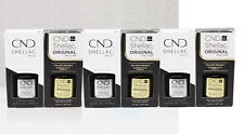 LOT 6 CND SHELLAC UV GEL BASE TOP KIT SET 7.3ml/0.25oz: 3 Base Coat & 3 Top Coat