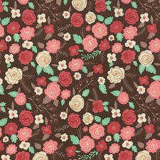 Moda Fabric Into The Woods Flowers 100 Cotton Quilting Sewing Fabric