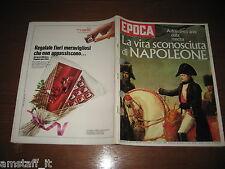 EPOCA 1969/965=NAPOLEONE=EGITTO FARAONI=CONCORDE=VIAREGGIO LAVORINI RAPIMENTO