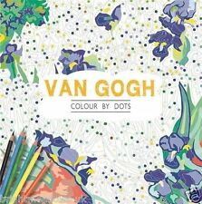 Van Gogh Dot to Dot Adult Colouring Book Painting Artist Landscapes Activity