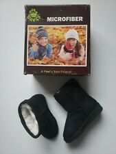 Dawgs Toddler/Young Microfiber Boots Black Size 4/5 Toddler free shipping