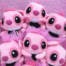 2017 Bunch of 11 pink Lio Stitch Angel Dolls Toys flowers Valentine Creative Box