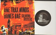 "ONE TRAX MINDS/BONES BAG Sulmona Rockers  7"" Wrap Round Sleeve, 4 Tracks, Tales"