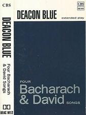 Deacon Blue Four Bacharach & David Songs CASSETTE EP Pop Rock UK CBS  DEAC M12