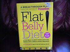 Flat Belly Diet Cynthia Sass Liz Vacariello 2008 HC Read Once Smoke-free