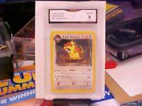 Pokemon Dark Raticate #51/82 2000 Team Rocket GMA Graded 8 NM-MINT!