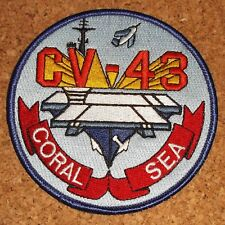 Ecusson/patch - USS - CV-43 Coral Sea