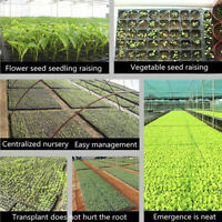 200Cells Seedling Growing Cases Germination Plant Propagation Nursery Seed T wl