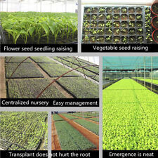 200Cells Seedling Growing Case Germination Plant Propagation Nursery Seed TraySl