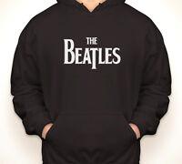 THE BEATLES vintage/retro logo classic music rock hoodie/hooded sweatshirt S-5XL