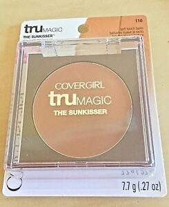 COVERGIRL TRU MAGIC THE SUNKISSER SKIN PERFECTOR BRONZER #110