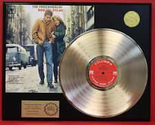 BOB DYLAN GOLD LP RECORD LIMITED EDITION RECORD DISPLAY FREE SHIPPING