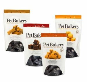 PET BAKERY DOG BISCUITS - HANDMADE DOG TREATS - CHEESE, LIVER, BEEF, CHICKEN