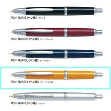 "【PILOT】 "" Capless "" (DEEP YELLOW , Nib:Fine) fountain pen   NAMIKI JAPAN NEW"