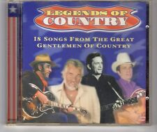 (HG562) Legends of Country, 18 tracks various artists - 1997 CD