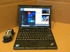 Lenovo ThinkPad X201 12.1in Intel i5 M540 2.53GHz, 4GB RAM 360GB SSD WINDOWS 10