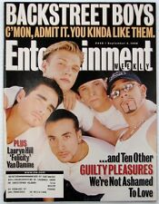 Entertainment Weekly 448 Sept 4 1998 Backstreet Boys cover Jean-Claude Van Damme