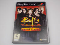 Mint Disc Playstation 2 Ps2 Buffy the Vampire Slayer Chaos Bleeds Free Postage