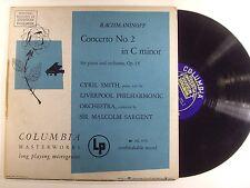 rachmaninoff lp concerto no.2 in c minor ML 4176  MONO   vg+/vg++