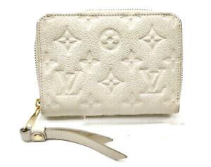 Louis Vuitton LV Coin Purse Mini zippy coin M68696 Monogram Empreinte 1532484
