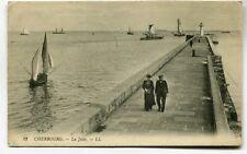 CPA - Carte Postale - France - Cherbourg - La Jetée (M7084)