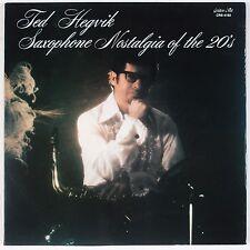 TED HEGVIK: Saxophone Nostalgia of 20s RARE Golden Crest LAB Vinyl LP NM
