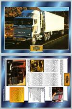 Mack MH603 Ultraliner - 1987 - Cabovers - Atlas Trucks Maxi Card