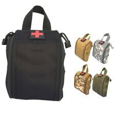 Military First Aid Kit Pouch Tactical Molle Medical Emergency Bag Waist Belt