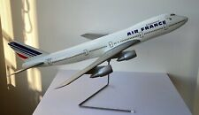 Ancienne maquette d'agences avion Air France Boeing 747 desk model aviation rare