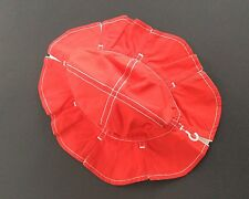 Beautiful Red And Whire Sun Hat GYMBOREE NWT 18 Months - 3T