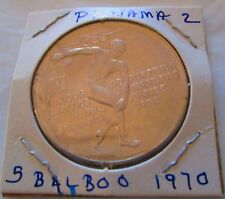 Coins 1970 Panama 5 Balboas Silver Proof 1oz Central American & Caribbean Games Coins