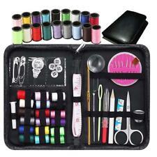 38pcs / set Sewing Kit Case Travel Home Needle Thread Band Scissor Key Craft!