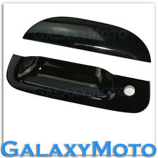 99-07 Ford Super Duty F250 F350 F450 Gloss Shiny Black Tailgate Handle Cover