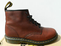 Dr Martens 101 Inuck Oxblood Vintage Chaussures Homme 47 Bottes 1460 UK12 Neuf
