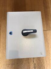 TELERGON 200 Amp 3 Phase & Neutral Switch Fuse Metal Enclosure Isolator MEM