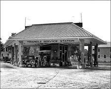 Triangle Gas Station #1 Photo 8X10 - Arlington VA 1925