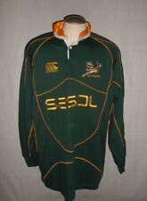 SA RUGBY SPRINGBOKS Mens Canterbury Jersey 2XL South African Rugby Union Shirt