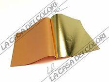 FOGLIA ORO IMITAZIONE - COLORE ORO 2,5 - LIBRETTO 25 FOGLI 14x14cm