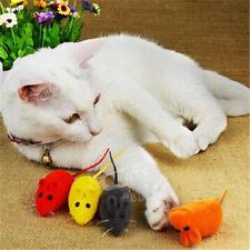 Pet Cat Dog Kitten Playing Toy False Mouse Rat Squeak Noise Sound Toy 1pc/